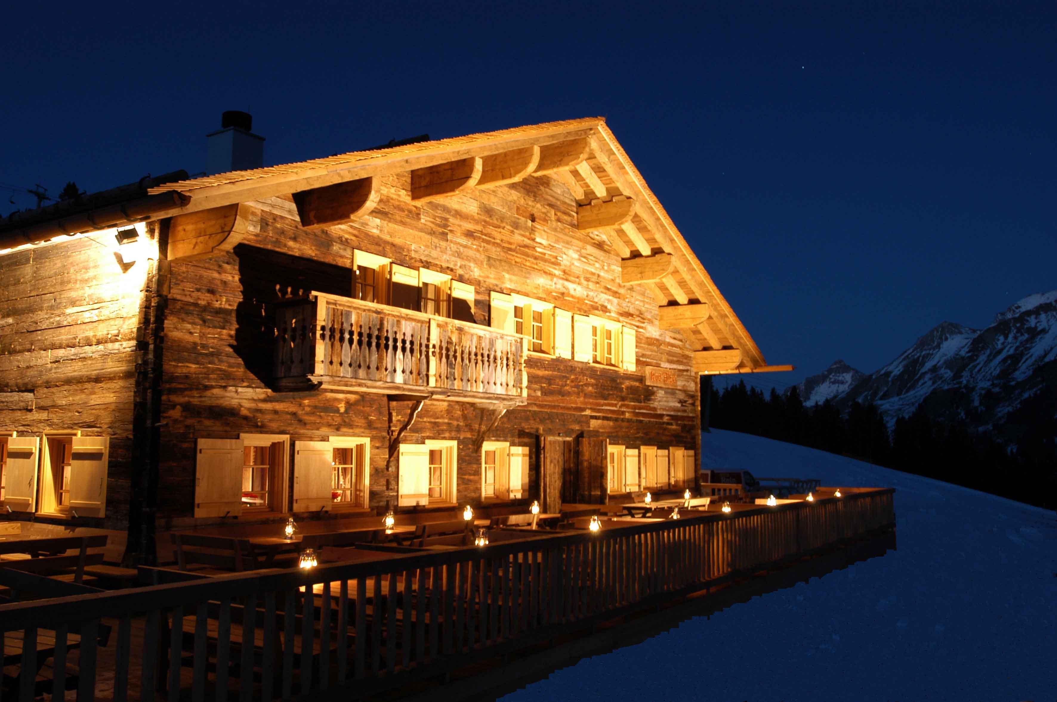 Die Rud Alpe in Lech am Arlberg